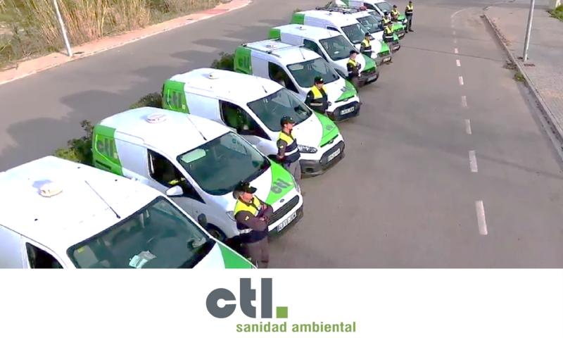 CTL dispone de una flota de más de 20 vehículos entre los que se encuentran todoterrenos y furgonetas berlingo.
