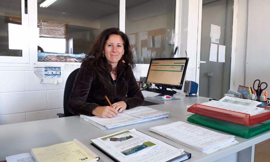 Salima Pérez es una de las profesionales que conforman el equipo técnico de CTL Sanidad Ambiental.