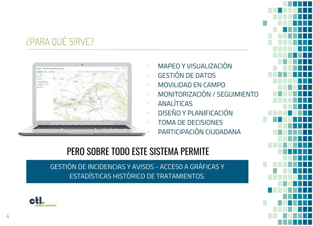 Sistema de identificación geografica de CTL.