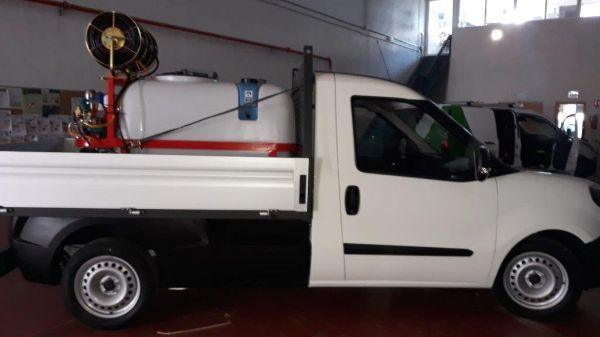 Cuba cañón pulverizador sobre vehículo CTL Sanidad Ambiental
