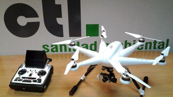 Dron CTL Sanidad Ambiental