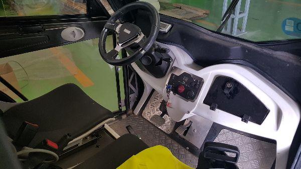 Vehículo eléctrico CTL Sanidad Ambiental