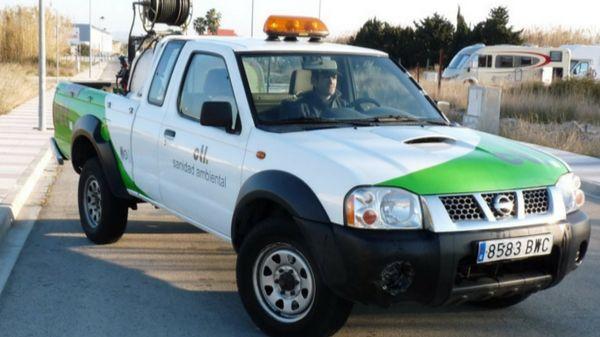 Vehículo Pick Up CTL Sanidad Ambiental