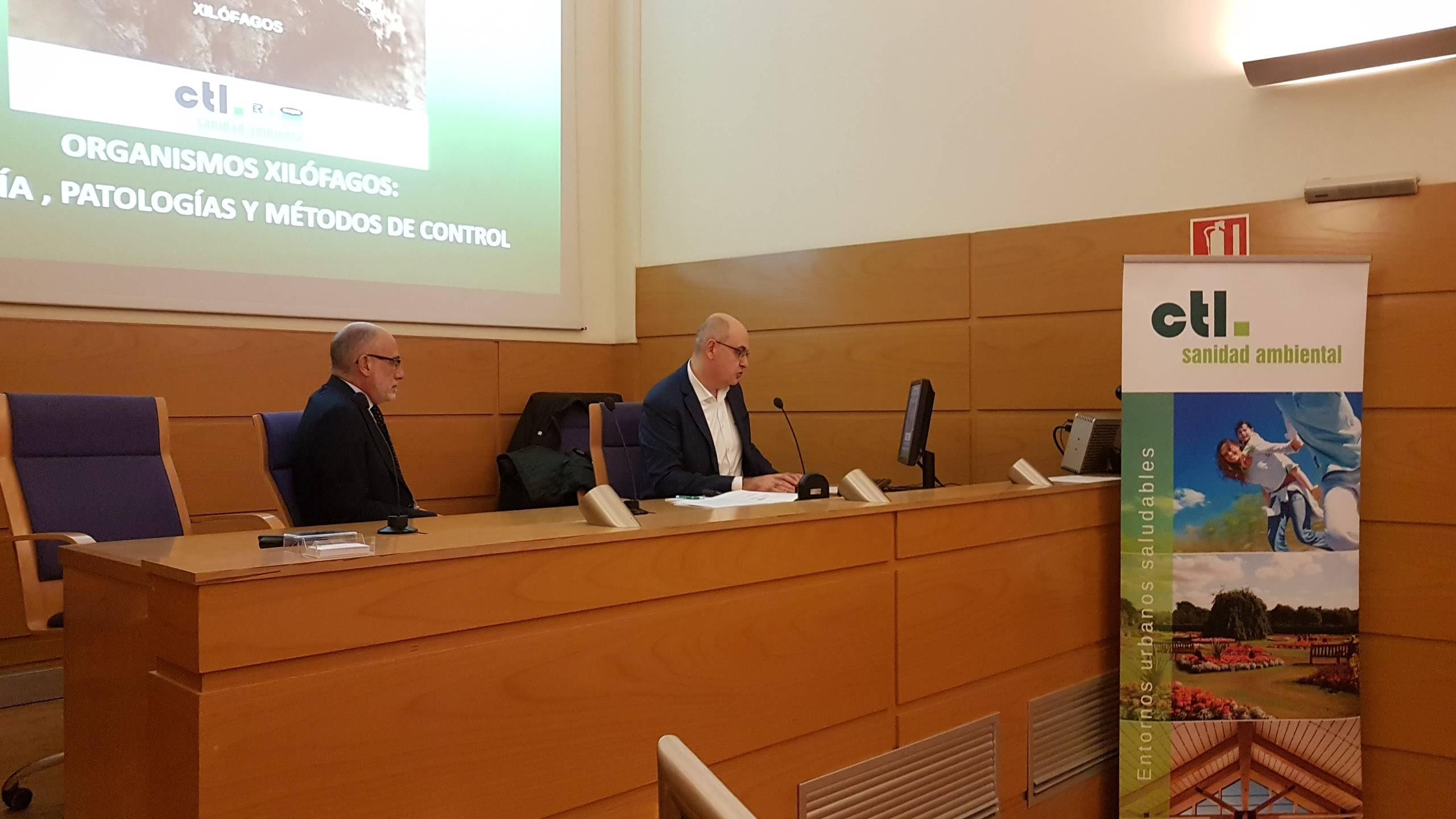 jornada sobre xilofagos en el colegio oficial de arquitectos de valencia