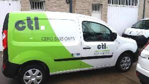 Vehículo eléctrico de CTL Sanidad Ambiental