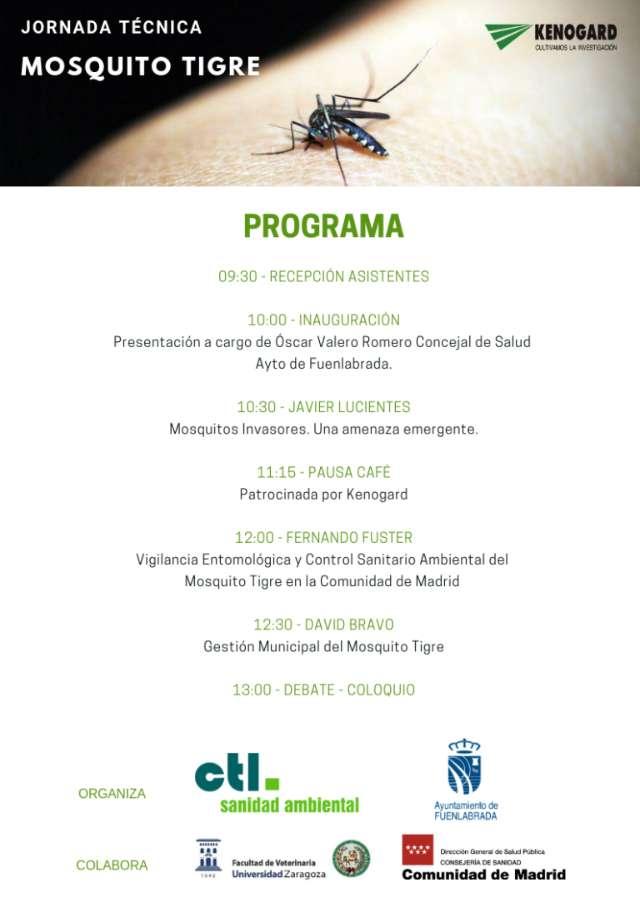 Programa de ponentes mosquito tigre fuenlabrada