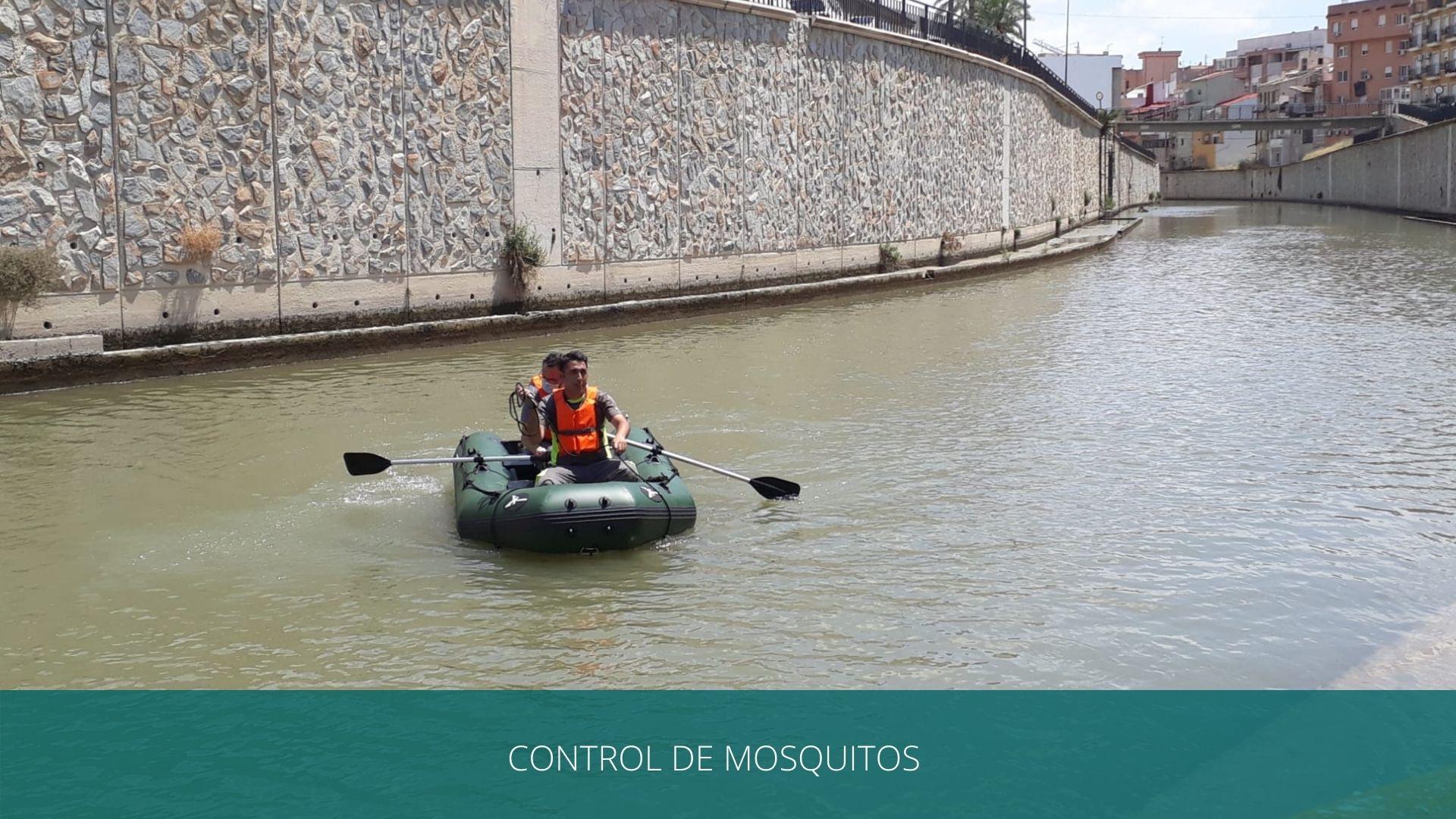 control de focos de mosquitos por agua